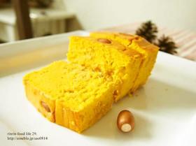 しゅわふわ♪レーズンと南瓜のチーズケーキ