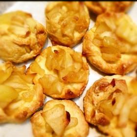 簡単‼♡リンゴ果肉たっぷりクッキー♡
