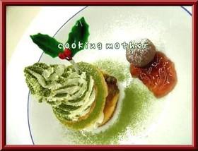 クリスマス ★スフレパンケーキ★
