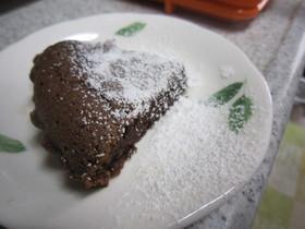 チョコケーキ(オーブントースター)