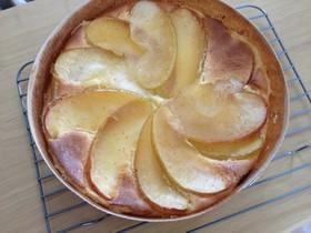 簡単!アップルシナモン☆チーズケーキ