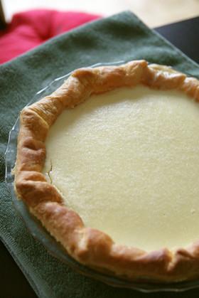 ニューヨークチーズケーキパイ
