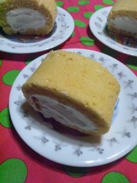 片栗粉deほわほわロールケーキ
