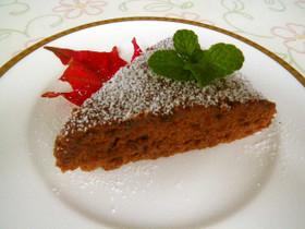 35分で出来る超ズボラチョコレートケーキ