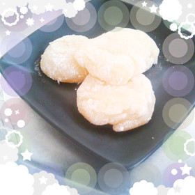 超簡単♪秋田バター餅もどき?