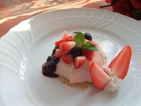 ダイエット☆トマトレアチーズケーキ