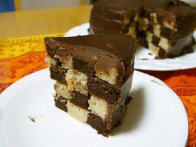 米粉のチョコケーキ★サンセバスチャン