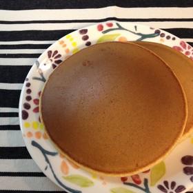 全粒粉・太白ごま油で作るパンケーキ