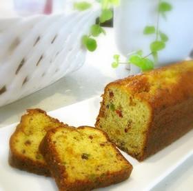 ♡しっとり~ピスタチオのパウンドケーキ♡