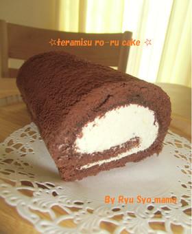 ☆ティラミスロールケーキ☆