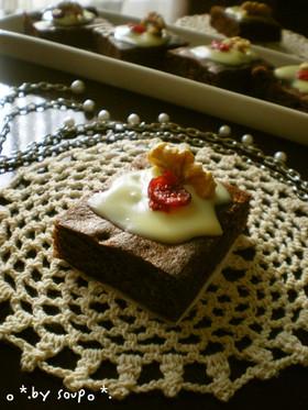 **クランベリーチョコケーキ**