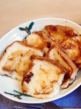 シナモンが香る♪ミルクフレンチトースト