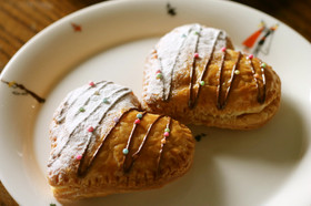 バレンタイン簡単可愛いハートのパイ♥