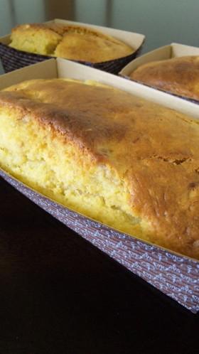 簡単☆甘酒とバナナのパウンドケーキ