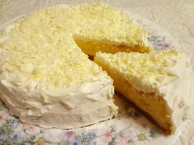 ホワイトチョコレート☆スフレチーズケーキ
