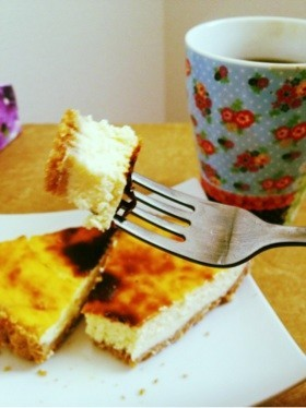濃厚ベイクドチーズケーキ♡めっちゃ簡単