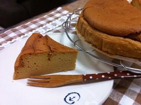 *キャラメルスフレチーズケーキ*