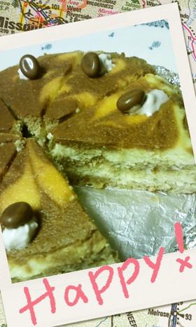 ティラミスNYチーズケーキ風