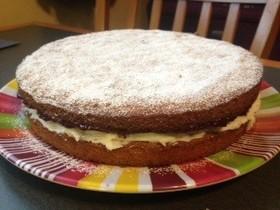バニラスポンジレイヤーケーキ