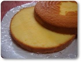 マーガリン☆簡単☆共立てスポンジケーキ♪