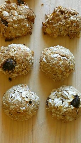 オートミールの簡単トースタークッキー