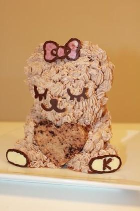 お手頃&簡単☆くまの3Dケーキ