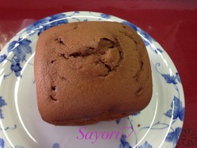 HMとHBで簡単美味しいチョコケーキ