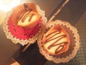 HM andトースターでカップケーキ