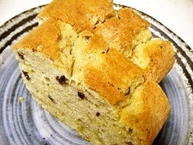 米粉さつまいもとあんこのパウンドケーキ
