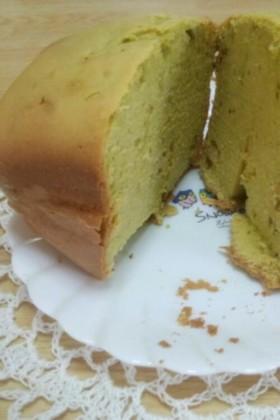 抹茶とくるみのパンケーキ