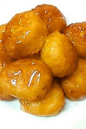 HMで♡人参と豆腐のふわもちドーナツ
