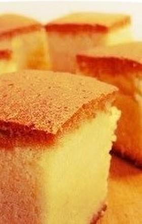 誰でも簡単★本格的なスポンジケーキ