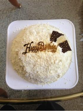 ホワイトデーに♡コポーでフワフワケーキ