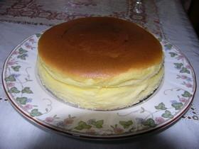ミニサイズの簡単スフレチーズケーキ