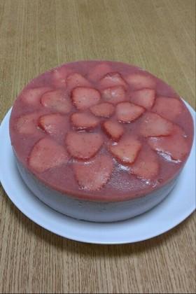 アレルギー対応 イチゴムースケーキ