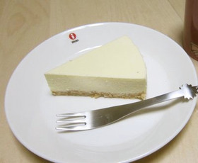アップルレアチーズケーキ