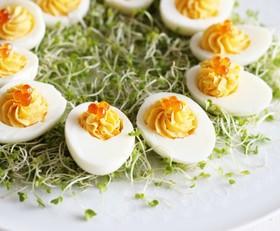 イースターの王道 卵料理 デビルドエッグ