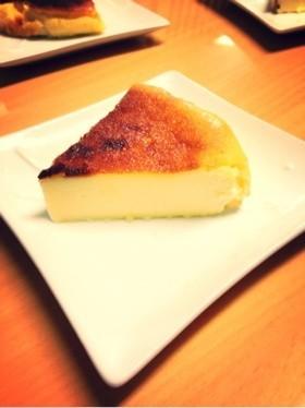 らくらくベイクドチーズケーキ!