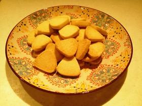 メープル米粉クッキー☆小麦・卵・乳なし