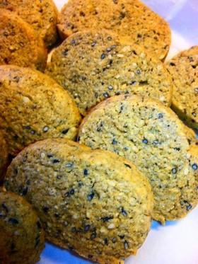 お菓子で健康!?ゴマきなこライ麦クッキー