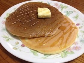 クルミ入♡ふわふわ豆乳パンケーキ