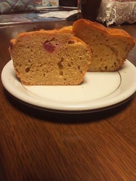 ダノンビオのパウンドケーキ(全粒粉入り)