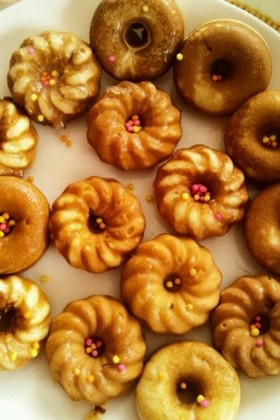 ビタントニオでふわふわ焼きドーナツ
