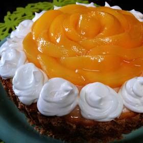 ♪桃のチーズケーキタルト♪