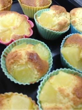 HMで!煮込みリンゴのカップケーキ