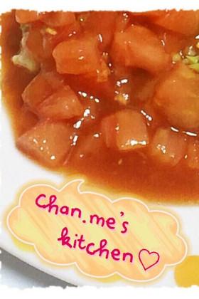 甘酢っぱいトマトソース☆