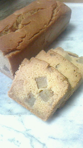 小麦・卵・乳製品なし 林檎パウンドケーキ