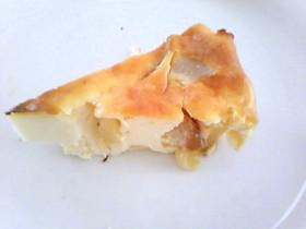 ヨーグルトでヘルシーアップルチーズケーキ