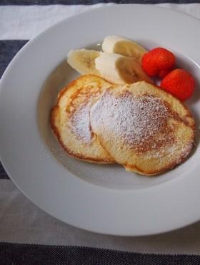 むらかみ家の米粉パンケーキ(薄力粉OK)