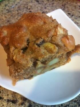 りんごとスパイスのパウンドケーキ